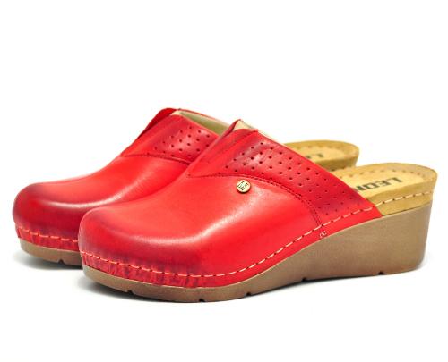 Сабо женские медицинские Leon 1002 (Красные) #2
