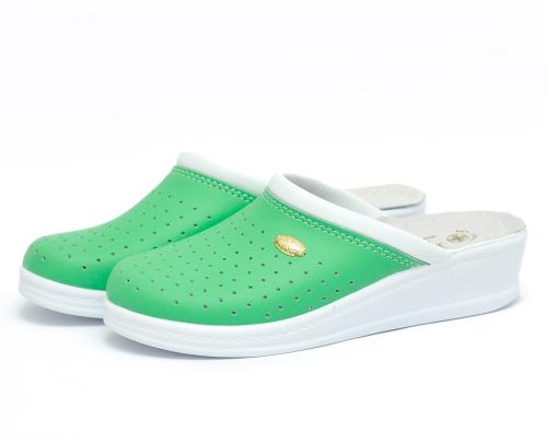 Сабо женскиеSanital Light 1250 (Зеленые) #1