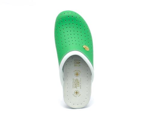 Сабо женскиеSanital Light 1250 (Зеленые) #3