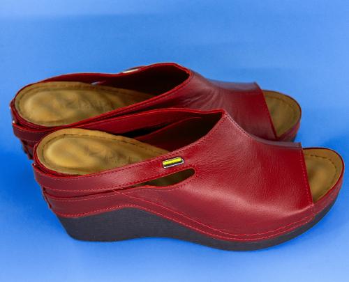 Сабо женские Izdiri 1001 (Красные) #3