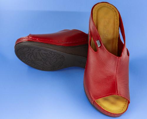 Сабо женские Izdiri 1001 (Красные) #7
