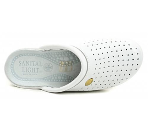 Сабо жіночі Sanital Light 350 (Білі) #3