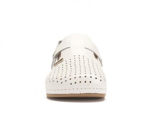 Сабо мужские медицинские Leon 701 (Белые) #4