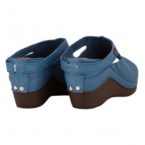 Сабо женские Izdiri 1001 (Синие) #3