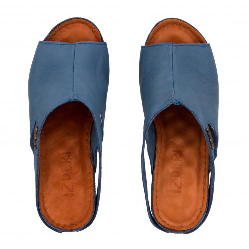 Сабо жіночі Izdiri 1001 (Блакитні) #6