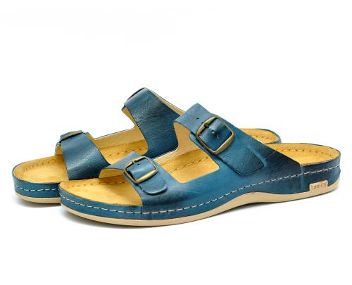 Сабо мужские Leon 703M (Синие) #1
