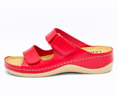 Сабо женские Leon 905 (Красные) #2