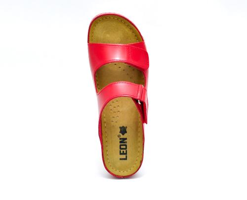 Сабо женские Leon 905 (Красные) #3