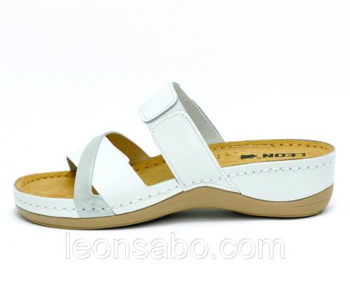 Сабо жіночі Leon 909 (Білі) #2