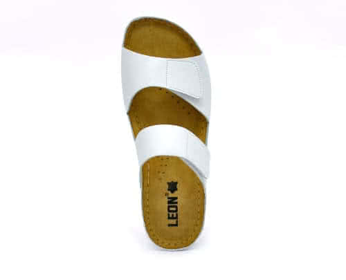 Сабо женские Leon 952 (Белые) #3