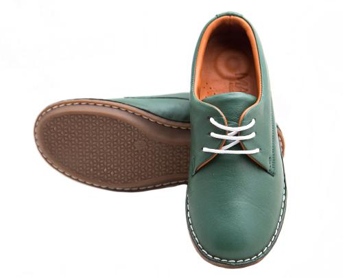 Туфли Mago 002 (Зеленые) #4
