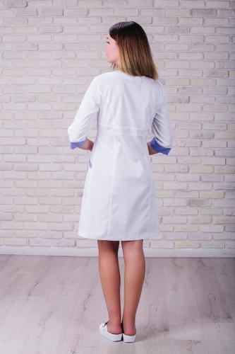 Женский медицинский халат 104 (Лиловый) #3