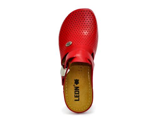 Сабо женские медицинские Leon 950 (Красные) #4