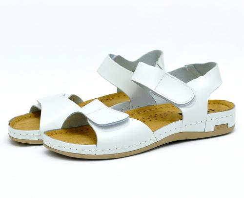 Сабо женские Leon 963 (Белые) #2