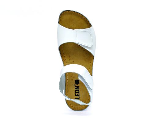 Сабо женские Leon 963 (Белые) #3